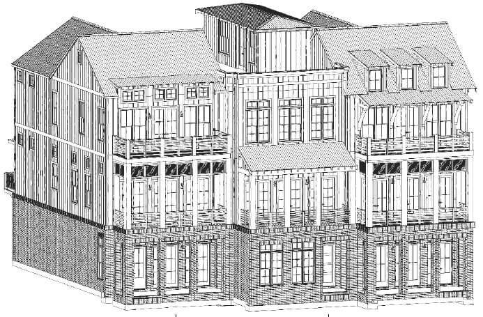 construction funding for six townhomes